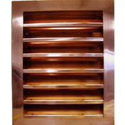 Louvered Gable End Vent - HC-WLV2448J - Thunderbird Products