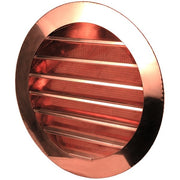 Round Louvered Gable Wall Vent - HC-WLVR24J - Thunderbird Products