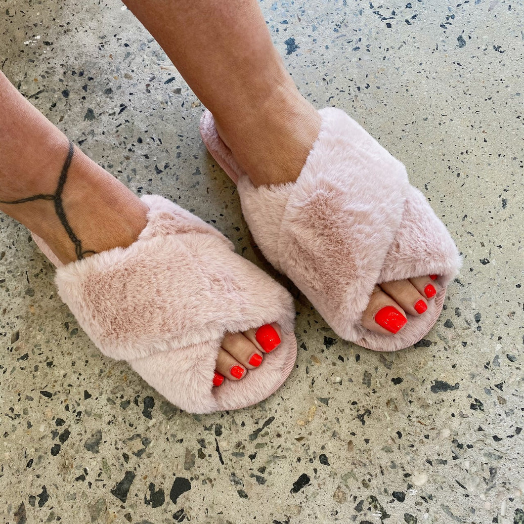 Pink Luxe Slippers