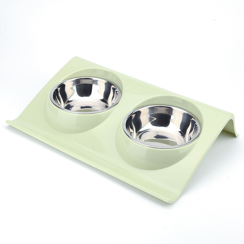 Stainless Steel Double Bowl