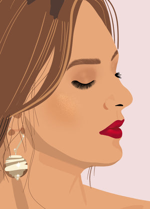 Minimalist Digital Portrait - Business Products - Kalaii Creations