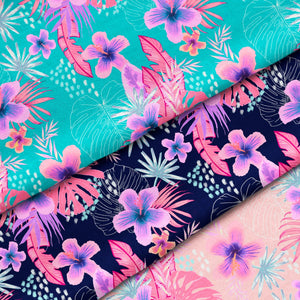 Summer Tropicals - Repeat Pattern | Non Exclusive, personal, or commercial use - Kalaii Creations