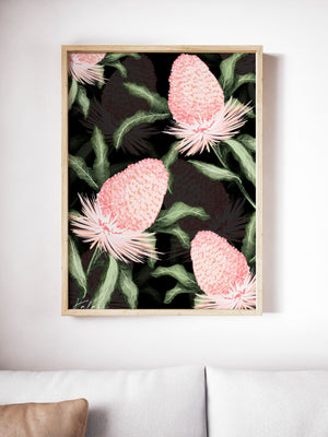 King Protea Print - Kalaii Creations
