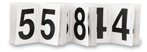Hip Numbers Set of 250