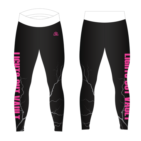 Lights Out Pole Vault Women Team Long Tights