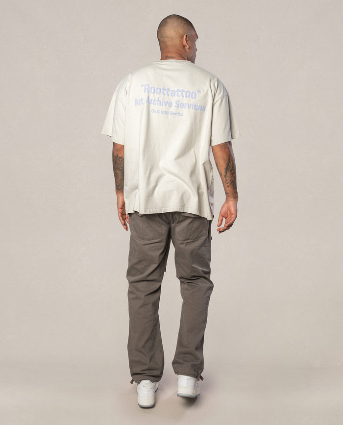 ARCHIVE DARK CREAM TEE
