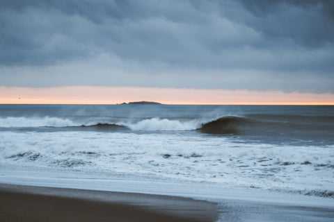 Waves on the West Coast of New Zealand's South Island