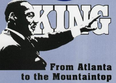 King From Atlanta to the Mountaintop