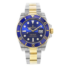 Load image into Gallery viewer, Rolex Submariner Steel 18K Yellow Gold Blue Dial 116613