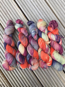 4ply Sock Yarn Edinburgh Inspired