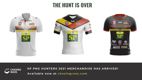 SP PNG HUNTERS jersey