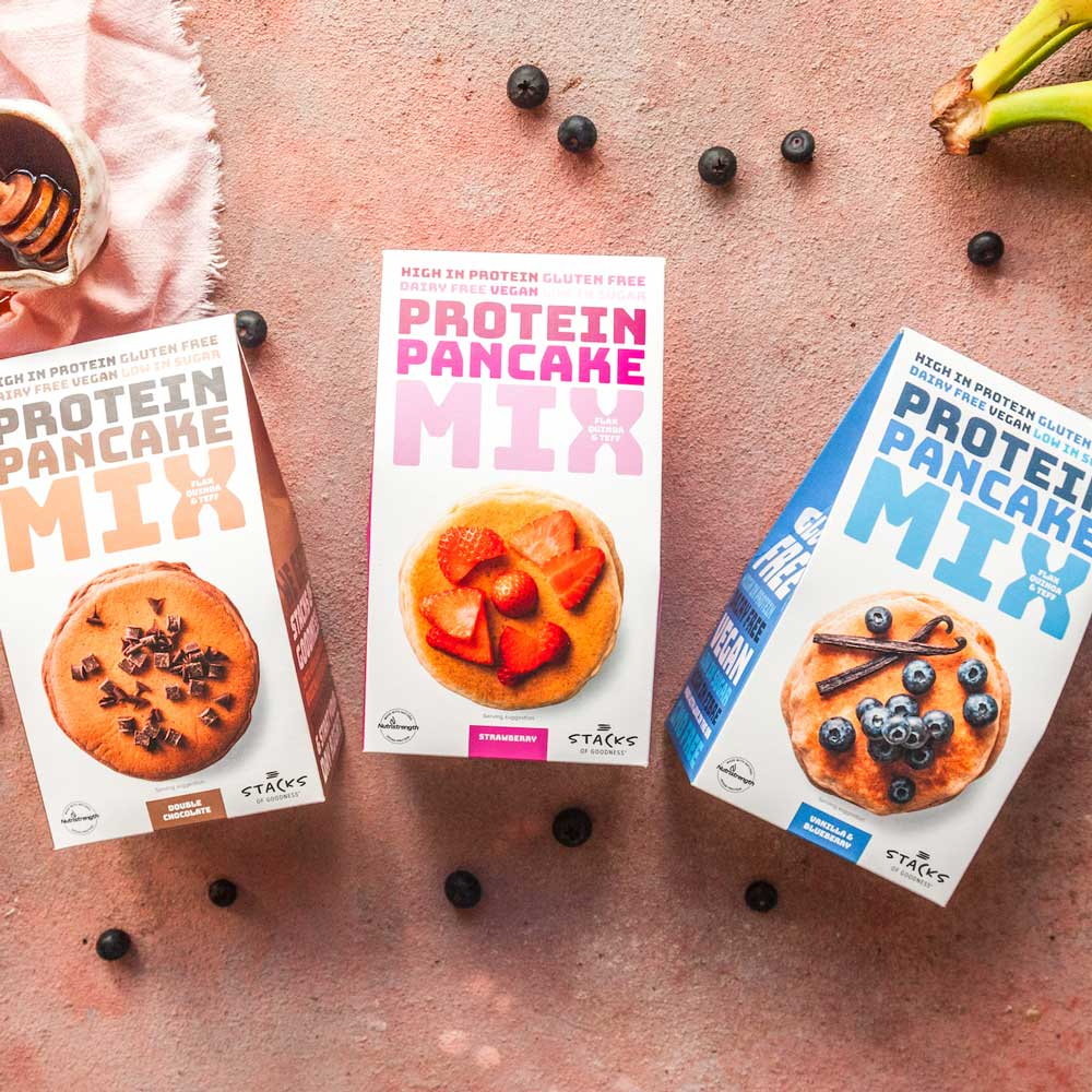 Pancake Lovers 5 Pack Bundle (5 Mixes) <br> Stacks of Goodness and Sweetpea Pantry