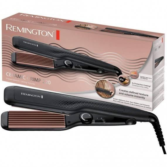 Remington Ceramic Crimp Curler 220 S3580 - Jango Mall