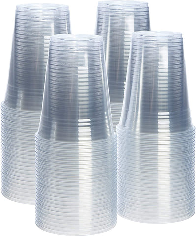 [CTC-PET14] 1000 COUNTS MEDIUM 14OZ DISPOSABLE CLEAR PLASTIC CUPS