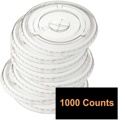 Flat Cup Lids - 14oz (1000 Counts)