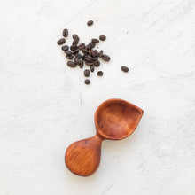 Load image into Gallery viewer, Arbor Novo handmade Spanish cedar Signature Barista wooden coffee scoop.