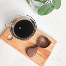Load image into Gallery viewer, Arbor Novo Black Walnut Signature Barista Wooden Coffee Scoop