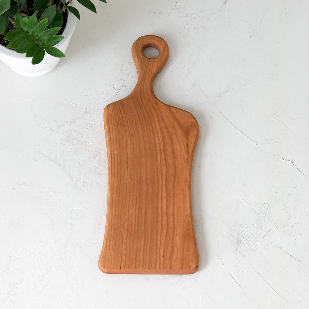 Arbor Novo Pinnacle Cherry Wooden Serving Board