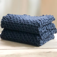 Load image into Gallery viewer, Arbor Novo Denim Sustainable Washcloth