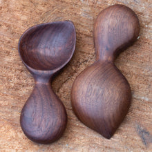 Load image into Gallery viewer, Two Arbor Novo black walnut Signature Barista wooden coffee scoops