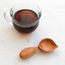 Load image into Gallery viewer, Arbor Novo handmade figured Bradford pear Signature Barista wooden coffee scoop.