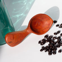 Load image into Gallery viewer, Arbor Novo figured cherry Signature Barista wooden coffee scoop