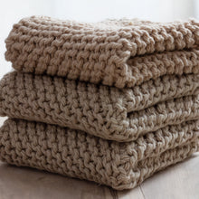 Load image into Gallery viewer, Arbor Novo Khaki Sustainable Washcloth