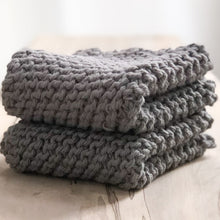 Load image into Gallery viewer, Arbor Novo Pewter Sustainable Washcloth