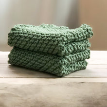 Load image into Gallery viewer, Arbor Novo Sage Sustainable Washcloth