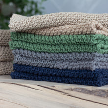 Load image into Gallery viewer, Collection of Arbor Novo Sustainable Washcloths