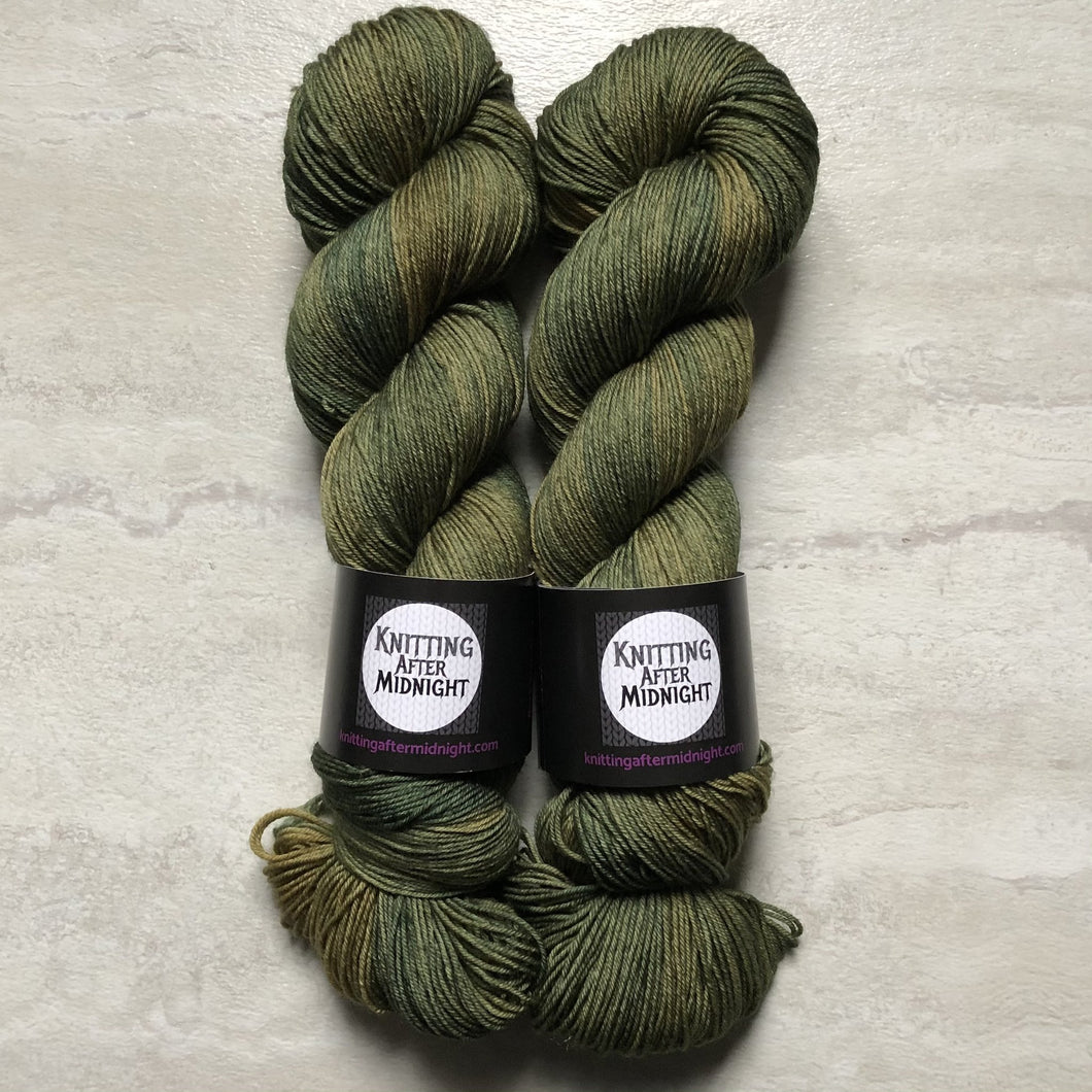 Be My Druidess Sock Yarn - Knitting After Midnight