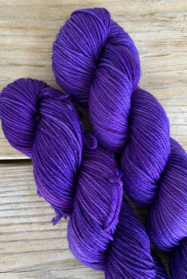 Wool & Vinyl Sock Yarn - Soul Sacrifice