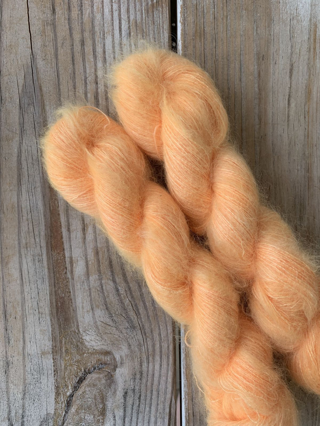 Wool & Vinyl Mohair Yarn - Blinded by the Light