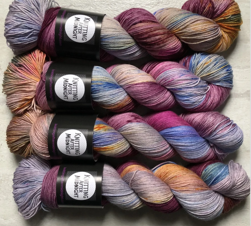 The Carnival Bizarre Sock Yarn - Knitting After Midnight
