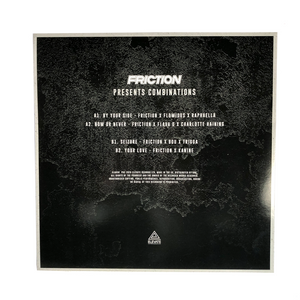 "Friction 'Combinations' - Vinyl 12"" EP"