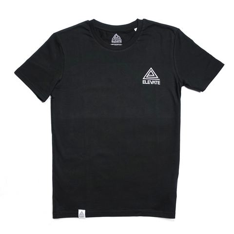 Elevate Records T-Shirt, Black