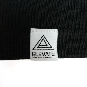 Elevate Records Hoodie, Black
