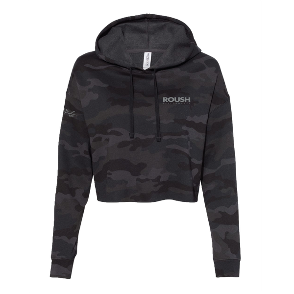 Ladies Roush Performance 25th Anniversary Cropped Hoodie