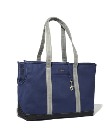 Tri-Color Boat Canvas Carrier - Navy/Black/Grey
