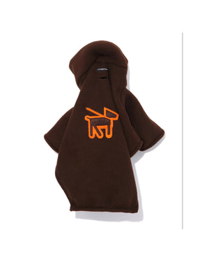 Fleece Turtle-Neck - Brown