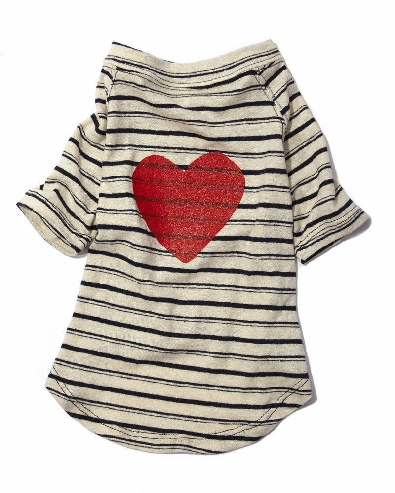 Graphic Nautical T - Heart