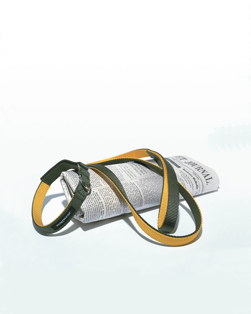 Double-Layered Nylon Collar and Leash