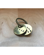 Wag Tags - Brass/Hand Stamped