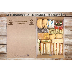 Afternoon Tea - Elizabeth (From £6.25 for 4 person Box)