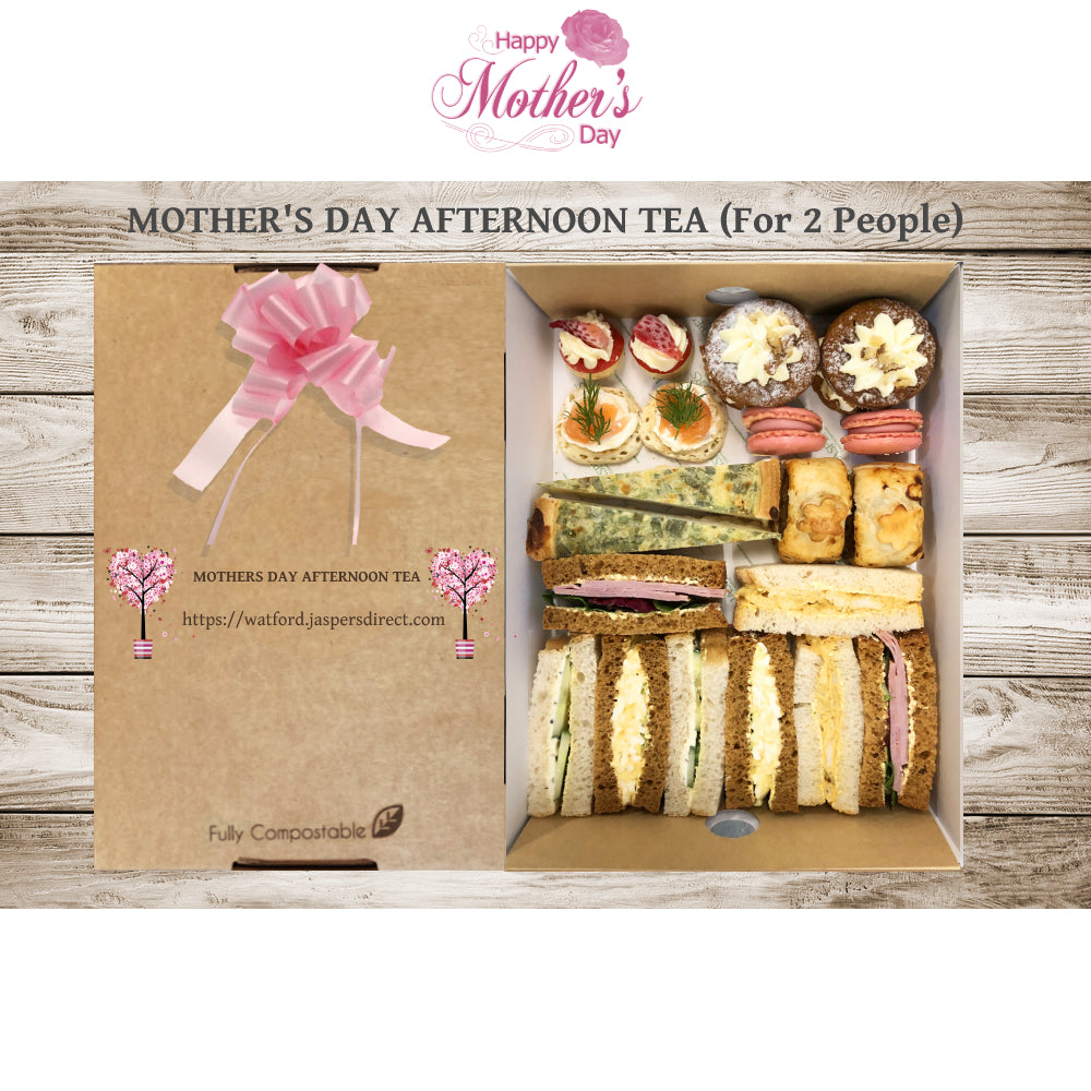 Mothers Day Afternoon Tea (for 2 people) (£9.98 per person)