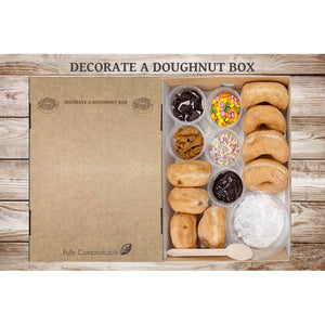 Decorate A Doughnut Box (8 Doughnuts)