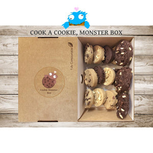 Cook a Cookie, Monster Box (15 Cookies / 5 Flavours)