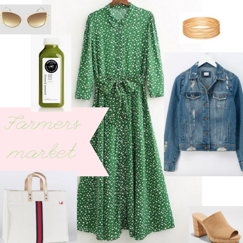 what to wear to the Farmers Market