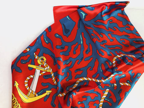 anchors away scarf