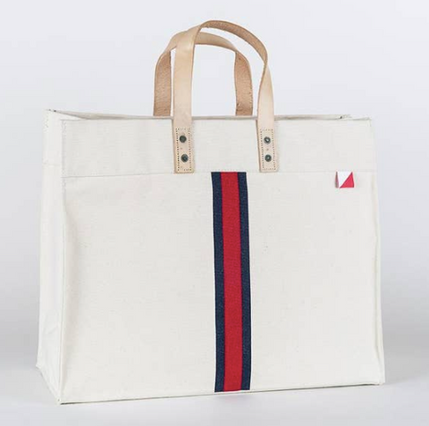 Striped Shorebag Tote